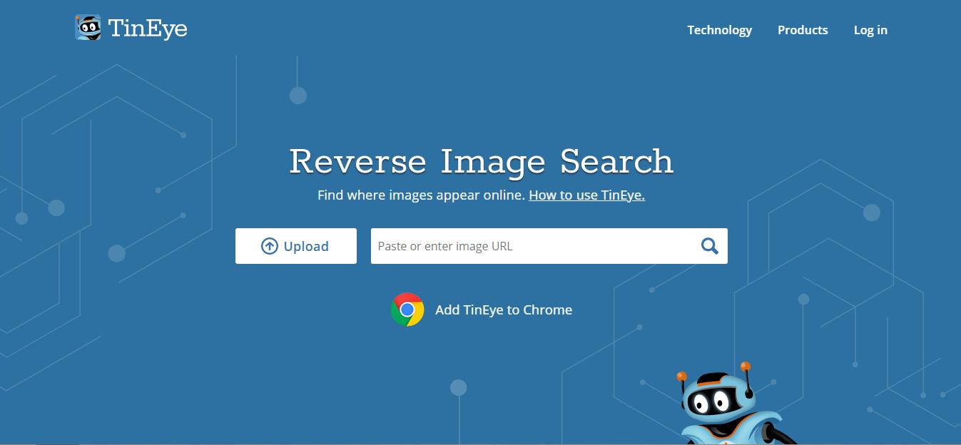 Tineye Free Reverse Image Search Engine Technologyeduc