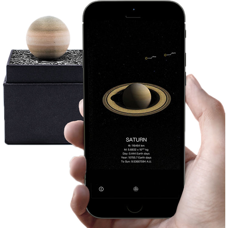 AstroReality: A wonderful AR Solar System Set 1