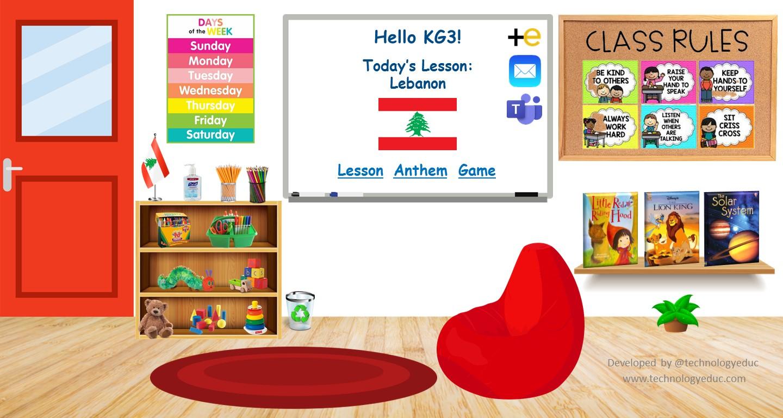 Preschool Bitmoji Classroom Technologyeduc