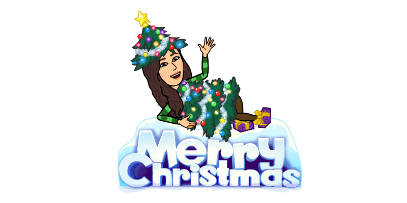 6 Super Creative Bitmoji Christmas Ideas
