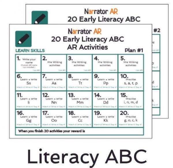AR ABC Activity Book
