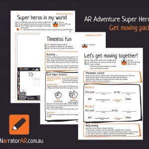 AR Adventure Super Get Moving Activity Pack