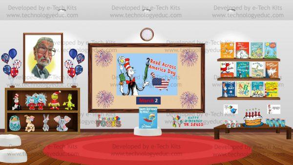 Bitmoji Dr. Seuss Read Across America Day Template