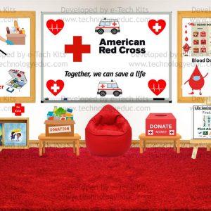 Bitmoji American Red Cross Month Template