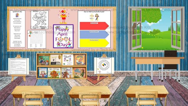 Bitmoji April Fool's Day Template